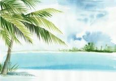 Θέρετρο του Palm Beach Στοκ Εικόνες