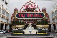 Θέρετρο χαρτοπαικτικών λεσχών Taj Mahal ατού Στοκ Εικόνες