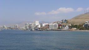 Θέρετρο Ancon στο βόρειο τμήμα της Λίμα, Περού Στοκ φωτογραφία με δικαίωμα ελεύθερης χρήσης