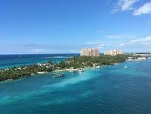 Θέρετρο Atlantis σε Nassau, Μπαχάμες Στοκ φωτογραφία με δικαίωμα ελεύθερης χρήσης