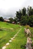 Θέρετρο Kanchanaburi το συννεφιασμένος ουρανού ` s στοκ εικόνες με δικαίωμα ελεύθερης χρήσης