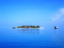 θέρετρο mirihi νησιών Στοκ εικόνες με δικαίωμα ελεύθερης χρήσης