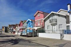 Θέρετρο Nova πλευρών, $μπέιρα Litoral, Πορτογαλία, Ευρώπη Στοκ Φωτογραφίες