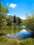 Θέρετρο Silver Lake Στοκ Εικόνες