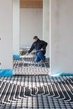 θέρμανση ψύξης underfloor Στοκ φωτογραφία με δικαίωμα ελεύθερης χρήσης