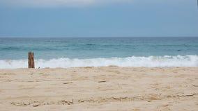 Θέση άμμου θάλασσας Στοκ φωτογραφία με δικαίωμα ελεύθερης χρήσης