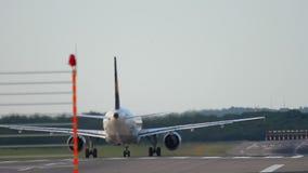 Θέση έναρξης αεροπλάνων πριν από την αναχώρηση φιλμ μικρού μήκους