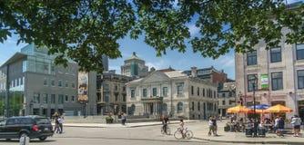 Θέση βασιλικό παλαιό Μόντρεαλ Στοκ φωτογραφία με δικαίωμα ελεύθερης χρήσης