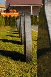 Θέση για τα δοχεία Στοκ εικόνες με δικαίωμα ελεύθερης χρήσης