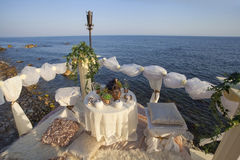 Θέση για τη ρομαντική ημερομηνία Στοκ Εικόνα