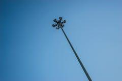 Θέση επικέντρων στο υπόβαθρο ουρανού Στοκ Φωτογραφίες