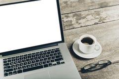 Θέση εργασίας, εργαλεία γραφείων Στοκ εικόνα με δικαίωμα ελεύθερης χρήσης