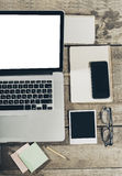 Θέση εργασίας, εργαλεία γραφείων Στοκ φωτογραφία με δικαίωμα ελεύθερης χρήσης