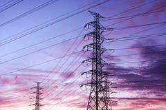 θέση ηλεκτρικής ενέργει&alpha Στοκ Εικόνα