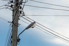 Θέση ηλεκτρικής ενέργειας στοκ φωτογραφία με δικαίωμα ελεύθερης χρήσης