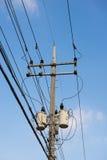Θέση ηλεκτρικής ενέργειας Στοκ εικόνες με δικαίωμα ελεύθερης χρήσης
