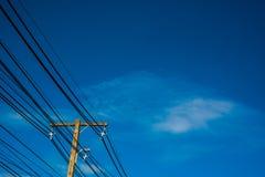 Θέση ηλεκτρικής ενέργειας Στοκ Φωτογραφίες