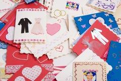 θέση καρτών Στοκ φωτογραφίες με δικαίωμα ελεύθερης χρήσης