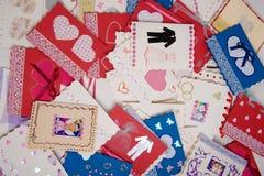 θέση καρτών Στοκ φωτογραφία με δικαίωμα ελεύθερης χρήσης