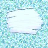 Θέση κτυπήματος χρωμάτων για το κείμενο Στοκ εικόνα με δικαίωμα ελεύθερης χρήσης