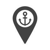 Θέση ναυτιλίας Στοκ εικόνα με δικαίωμα ελεύθερης χρήσης