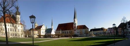 Θέση παρεκκλησιών σε Altoetting Στοκ Εικόνα