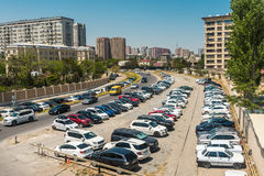 Θέση στάθμευσης στοκ φωτογραφίες