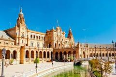 Θέση της Ισπανίας στη Σεβίλη Στοκ Εικόνες