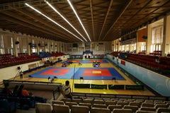 Θέση του ρουμανικού πρωταθλήματος, νεώτεροι, το Μάιο του 2018 στοκ εικόνες