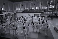 Θέση του ρουμανικού πρωταθλήματος, νεώτεροι, το Μάιο του 2018 στοκ φωτογραφία με δικαίωμα ελεύθερης χρήσης