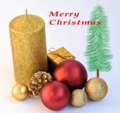 Θέση Χριστουγέννων Στοκ Εικόνες
