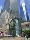 Θέση Brookfield στο Λόουερ Μανχάταν, NYC στοκ εικόνες