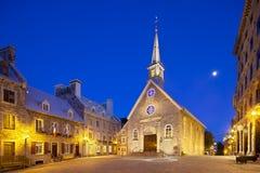 Θέση Royale στην πόλη του Κεμπέκ, Καναδάς, εκδοτικός Στοκ φωτογραφία με δικαίωμα ελεύθερης χρήσης