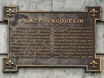 Θέση Vauquelin παλαιό Μόντρεαλ Στοκ Φωτογραφία