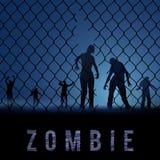 Θέση Zombie διανυσματική απεικόνιση
