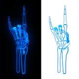 Θέστε το κόκκαλο χεριών Στοκ φωτογραφία με δικαίωμα ελεύθερης χρήσης