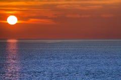 Θέτοντας ήλιος Στοκ Εικόνα