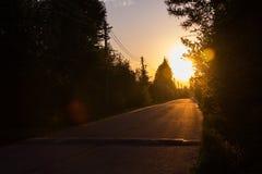 Θέτοντας ήλιος Στοκ φωτογραφίες με δικαίωμα ελεύθερης χρήσης