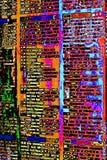 Θέτοντας αφαίρεση τύπων Deconstruktivist στοκ εικόνα με δικαίωμα ελεύθερης χρήσης
