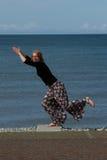 θέτοντας γυναίκα Στοκ φωτογραφία με δικαίωμα ελεύθερης χρήσης