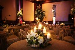 θέτοντας επιτραπέζιος γάμος λήψης πολυτέλειας Στοκ Εικόνα