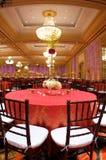 θέτοντας επιτραπέζιος γάμος λήψης πολυτέλειας Στοκ Φωτογραφία