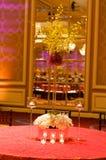 θέτοντας επιτραπέζιος γάμος λήψης πολυτέλειας Στοκ Εικόνες