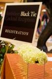 θέτοντας επιτραπέζιος γάμος λήψης πολυτέλειας Στοκ εικόνες με δικαίωμα ελεύθερης χρήσης