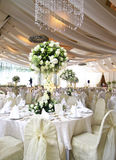 θέτοντας επιτραπέζιος γάμος Στοκ Φωτογραφίες