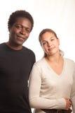 θέτοντας νεολαίες ζευ&ga Στοκ εικόνα με δικαίωμα ελεύθερης χρήσης