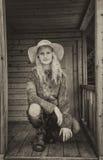 θέτοντας νεολαίες κοριτσιών Στοκ φωτογραφία με δικαίωμα ελεύθερης χρήσης