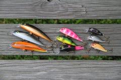 θέλγητρα αλιείας Στοκ Φωτογραφία