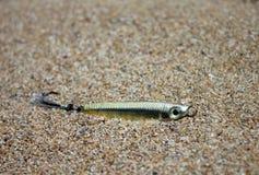 Θέλγητρο αλιείας, χειροτεχνία στοκ εικόνες με δικαίωμα ελεύθερης χρήσης