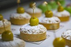 Θίχουλα της Apple σε μια επίδειξη αρτοποιείων Στοκ φωτογραφία με δικαίωμα ελεύθερης χρήσης